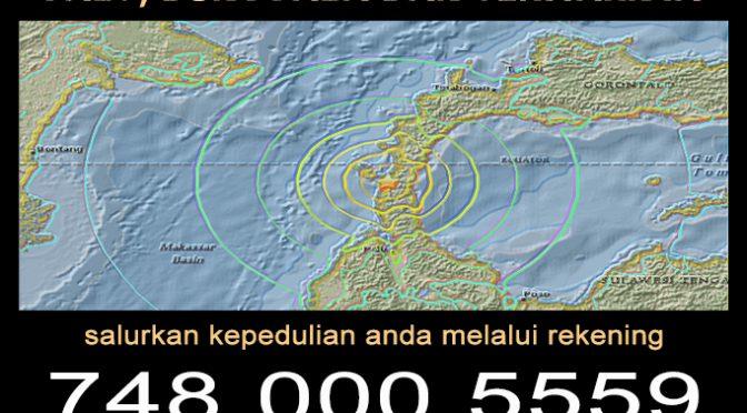 LPP – Peduli Gempa dan Tsunami – 1 Oktober 2018