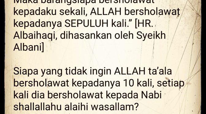 Makna Sholawat Allah…