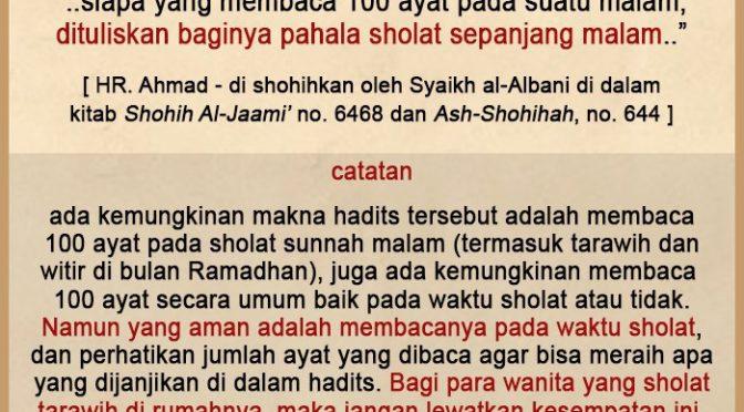 Renungan 22 Ramadhan 1440 H…