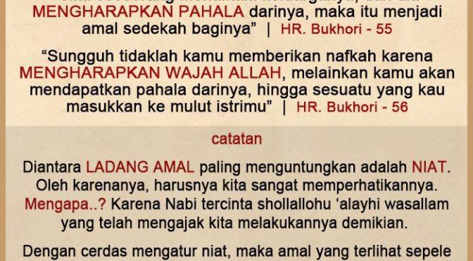 Renungan 28 Ramadhan 1440 H…