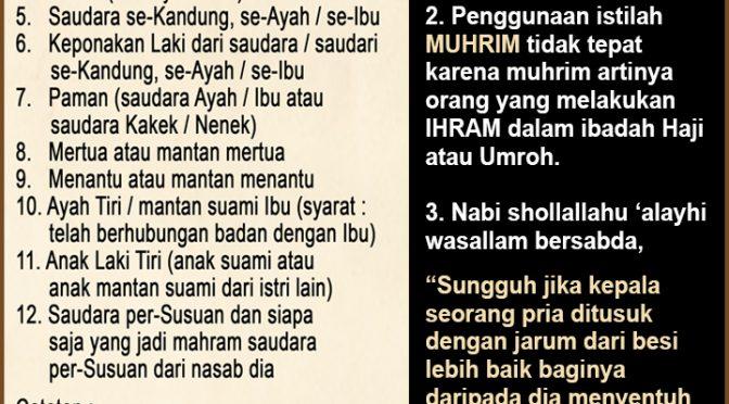Idul Fitri – Edisi Dengan Siapa Saja Anda Bisa Bersalaman..?