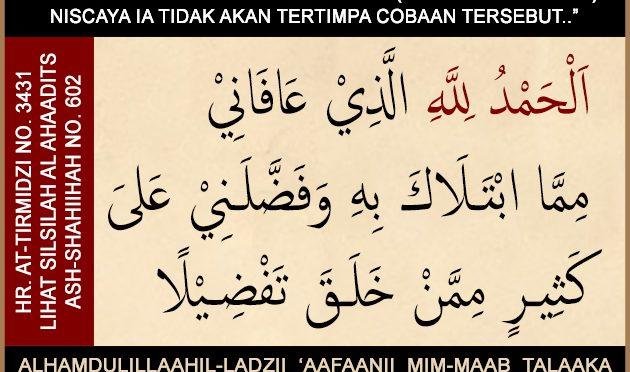Do'a Yang Dibaca Saat Melihat Orang Lain Mengalami Musiibah…