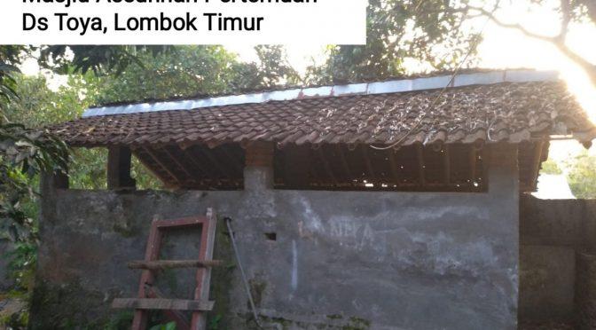 SELESAI – Tempat Wudhu dan WC Masjid