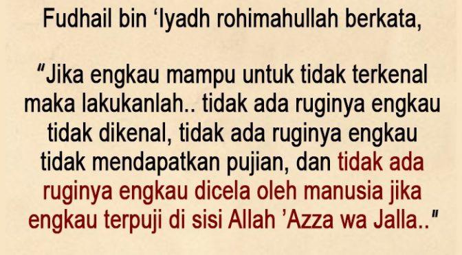 EDISI – 14 Ramadhan 1441 / 2020 M