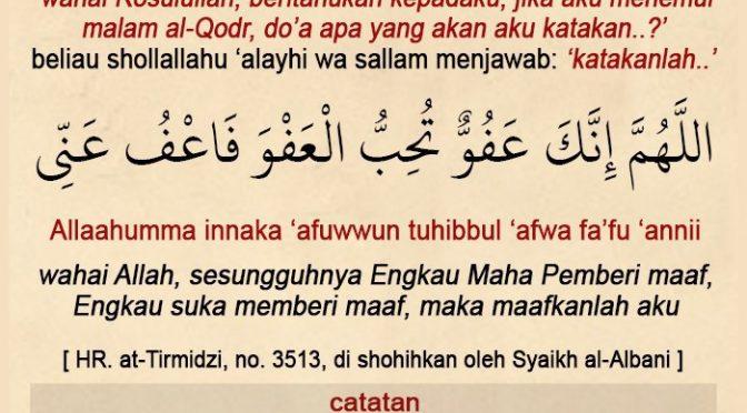 EDISI – 20 Ramadhan 1441 / 2020 M