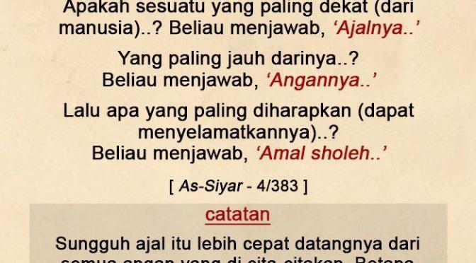 EDISI – 21 Ramadhan 1441 / 2020 M