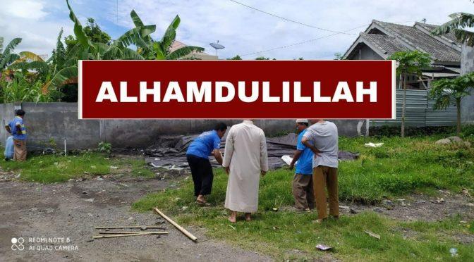 SELESAI – Wakaf Musholla – TAHAP 2 dan Bak Air