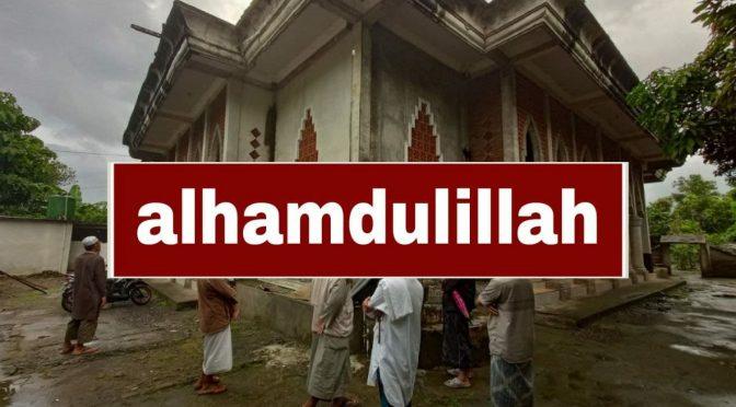 SELESAI – Wakaf Masjid + 3 Sumur Bor + Jaringan Pipa + Musholla