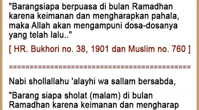 Kompilasi – Nasihat Harian Ramadhan 1442