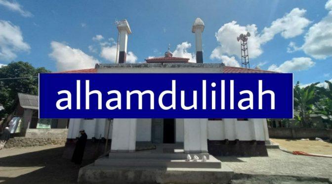 SELESAI – WAKAF Sumur Bor + Lahan Rumah Tahfizh + Perluasan Masjid