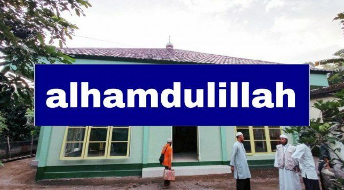 SELESAI – WAKAF 5 Sumur + Pembangunan 2 Masjid + Mushaf + Lahan Rumah Tahfizh